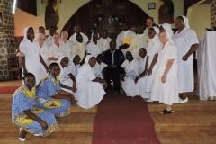 M Patrick avec Soeurs du Cameroun