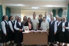 Les membres du Tribunal et la communauté de Clarin, Bohol.