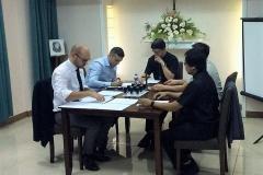 L'ouverture de l'enquête diocésaine présidée par Mgr Alberto Uy