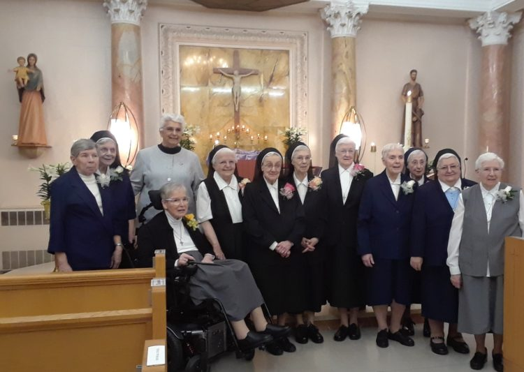 JUBILARIANS 2019 OF THE UNITED STATES PROVINCE